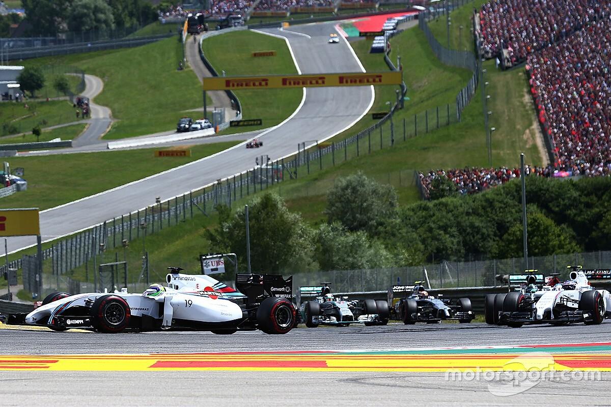 Cuando Williams venció a Mercedes en casa de Red Bull