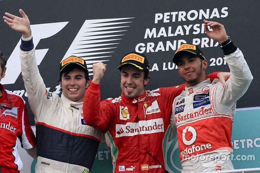 El día que Pérez acarició la victoria en la Fórmula 1