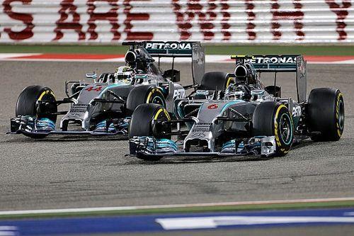 Как это было: Гран При Бахрейна'14, где Хэмилтон и Росберг впервые сошлись в драке за победу