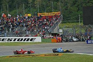 Así recuerda Alonso sus duelos con Schumacher en Imola