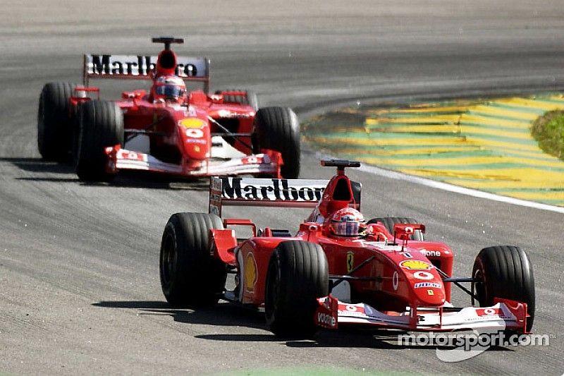 Top 10: Die meisten Formel-1-Rennen als Teamkollegen