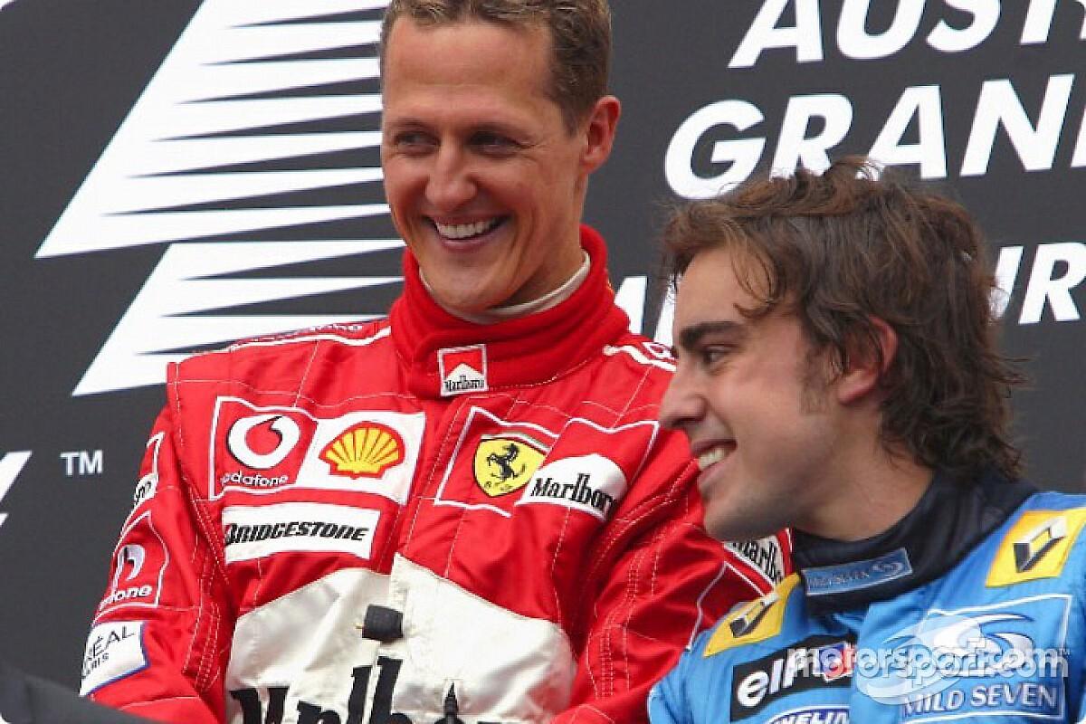 La última vez que Schumacher arrancó la temporada ganando