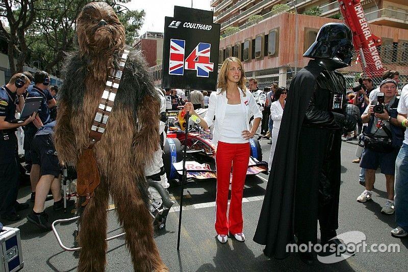 Fotos: Star Wars y la F1, cuando la unión hace la fuerza