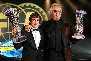 """Briatore: """"Úgy nyertem világbajnokságot, hogy egyetlen futamot sem láttam előtte"""""""