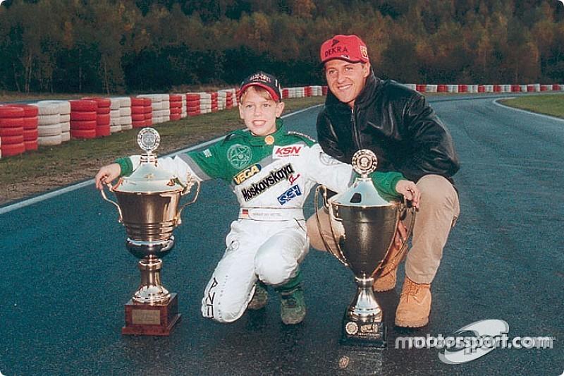 Ecclestone: Schumacher bir liderdi, Vettel ise değil