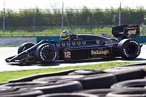 Virtuális kör Hockenheimben Senna legendás gépével
