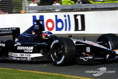 Por qué el debut de Alonso en F1 2001 fue caótico
