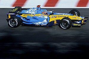 Alonso, Abu Dhabi GP hafta sonunda 2005 Renault ile gösteri yapacak