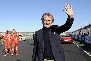 """Montezemolo: """"Avrei voluto tre Rosse per Schumi, Massa e Raikkonen"""""""
