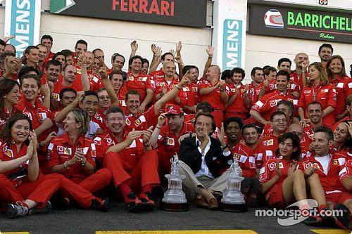 GALERÍA: Schumacher iguala la legendaria marca de Fangio en 2002