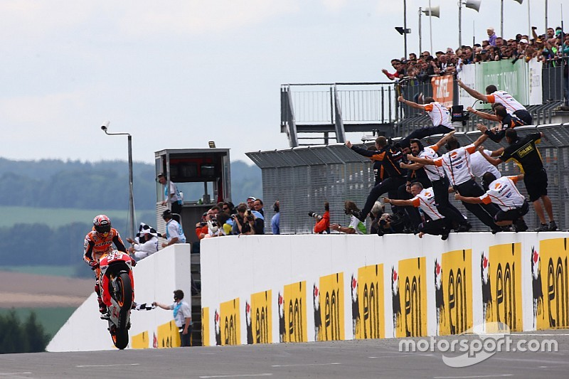 Diaporama - La copie parfaite de Márquez au Sachsenring depuis 2010