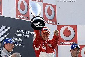 GALERÍA: Los pilotos de Ferrari ganadores en el GP de Italia