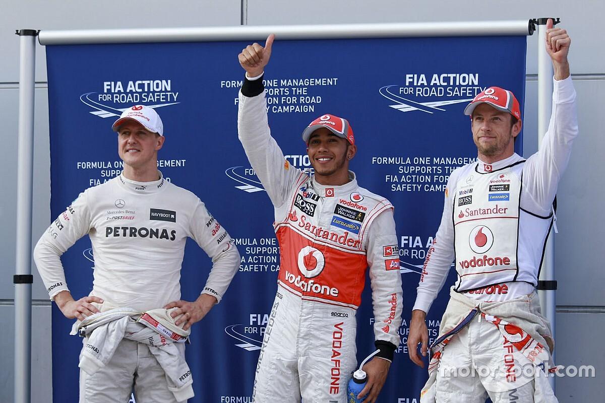 GALERÍA: Lewis Hamilton y sus 91 pole position