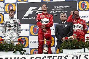 Un 20 de abril, la victoria más amarga de Michael Schumacher