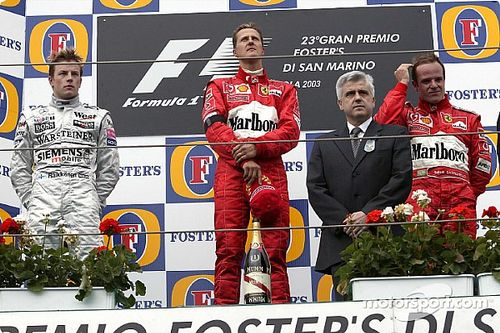 La victoria con más dolor de Michael Schumacher