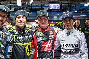 La Monster spinge per far salire Hamilton sulla Yamaha di Valentino