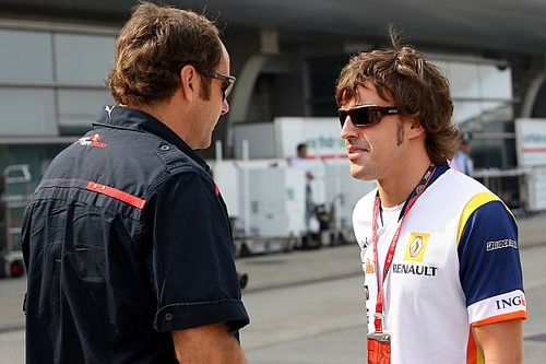 Berger, interesado en que Alonso corra como invitado en el DTM