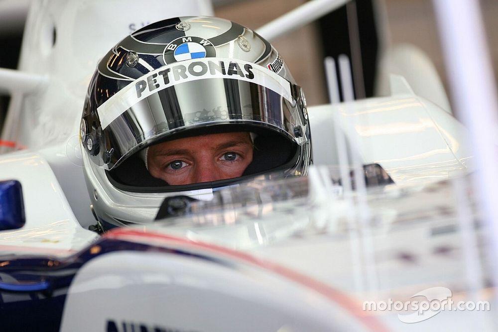 El esperado, inesperado debut de Vettel en F1 y su primer récord