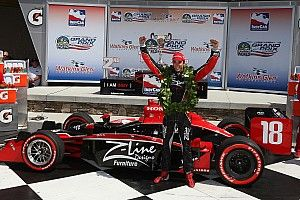 When Justin Wilson ended Dale Coyne's 25-year wait for victory