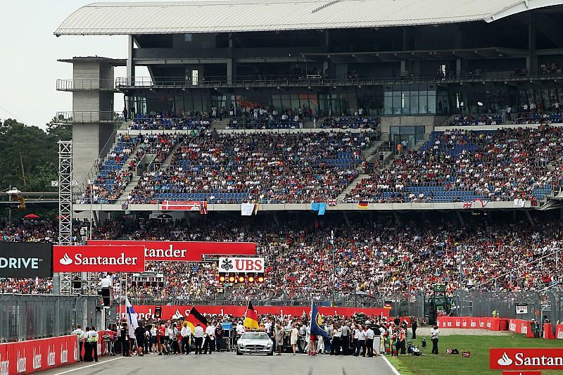 Hoe laat begint de Grand Prix van Duitsland Formule 1?