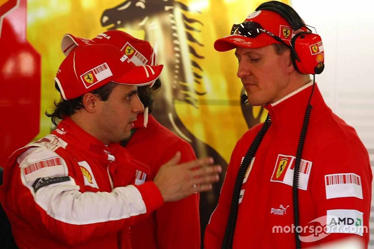 'Esnobado' por Senna, Massa usou episódio para dar lição em Schumi