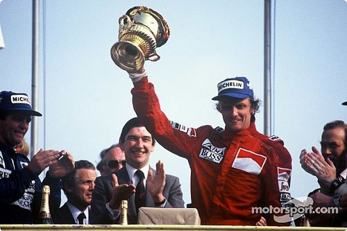 GALERI: Semua kemenangan Niki Lauda di F1