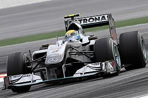 54 ans entre deux podiums: l'intouchable record de Mercedes