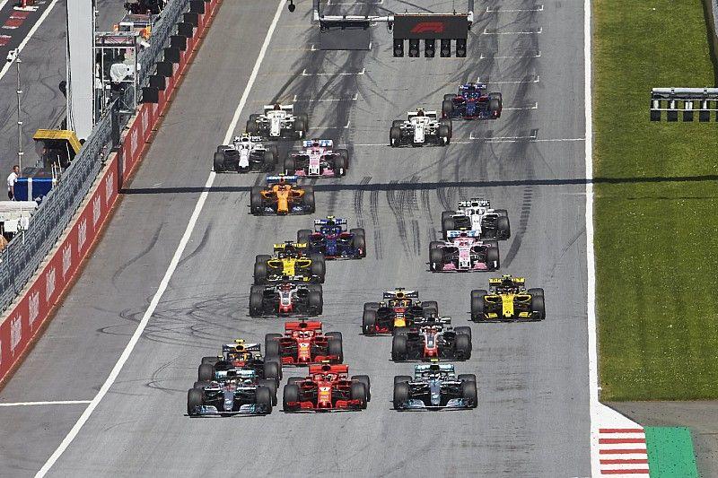 الفورمولا واحد تدرس إمكانية منح النقاط حتى المركز الـ 20