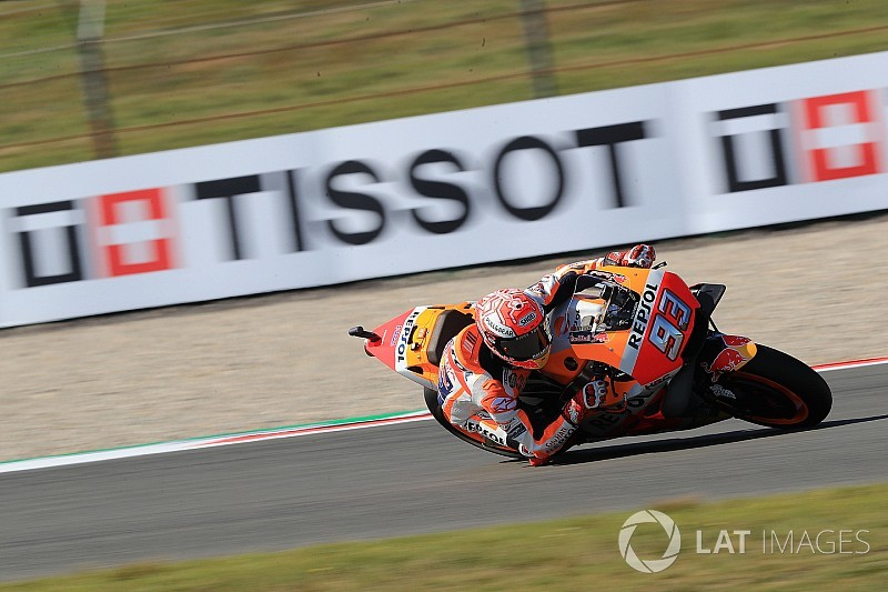 Assen MotoGP: Marquez leads Dovizioso in warm-up