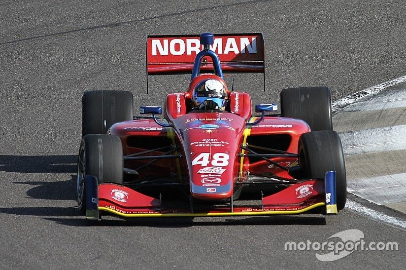 Norman, Keane, McElrea head Road To Indy testing