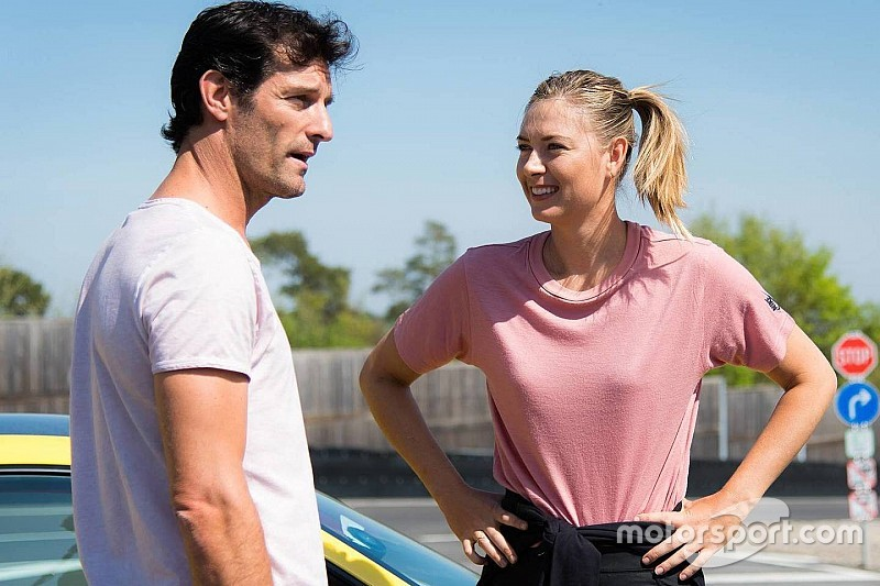 VIDEO: Webber y Maria Sharapova en el Porsche GT2 RS