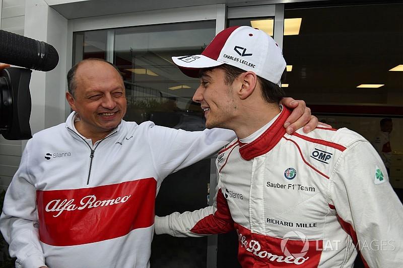 Vasseur: Sauber'in performansı yarıştan yarışa değişecek