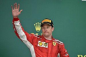 Räikkönen 24 alkalommal állt úgy dobogóra, hogy még mindig nem nyert