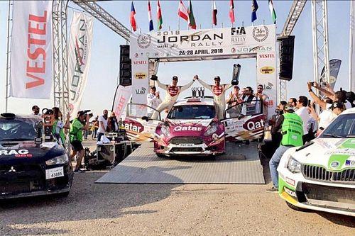 العطية يطارد الأرقام القياسية محققًا فوزه الـ 12 في رالي الأردن الدولي
