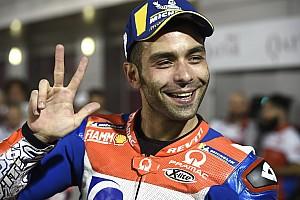 MotoGP Reaktion Petrucci erwartet umkämpftes Rennen: Angst vor der ersten Runde