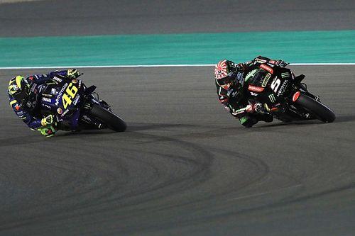 """Rossi: """"Zarco quería mi moto; estoy contento de que Yamaha me eligiera a mí"""""""