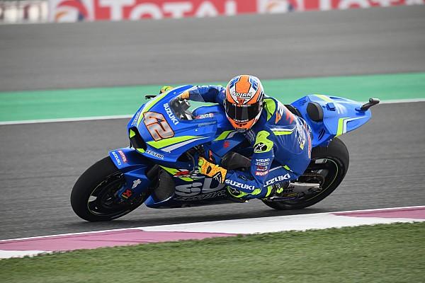MotoGP Nieuws Suzuki-rijders Rins en Iannone hopen op mooi resultaat in Qatar