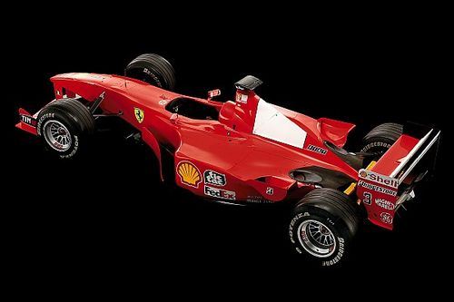 Le mitiche Ferrari di F.1: F1-2000 campione dopo 21 anni con Schumacher