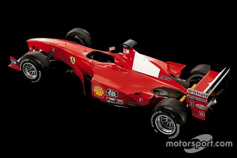 Los Ferrari F1 de leyenda: el del comienzo del reinado de Schumacher