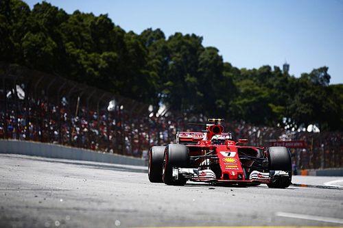 """Raikkonen dice que """"era imposible rebasar"""" en Gran Premio de Brasil"""