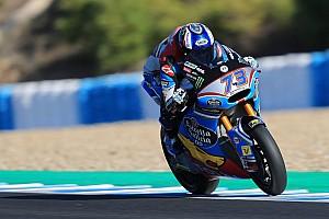 Márquez y Martín lideran los test de Moto2 y Moto3 en Cheste
