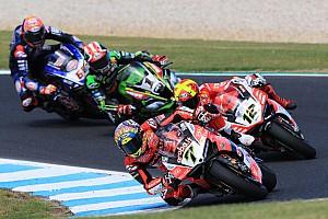 Superbike-WM News Chaz Davies nach Sturz: