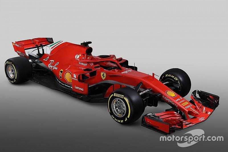 法拉利发布2018年F1赛车SF71H