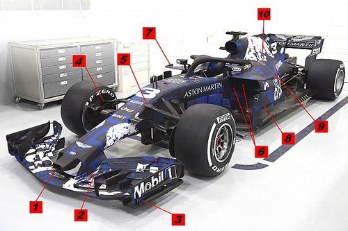 Teknik analiz: Red Bull RB14