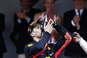 """Todas las """"víctimas"""" del 'shoey' de Daniel Ricciardo"""