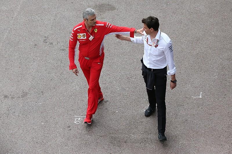 Mercedes, Ferrari güç ünitesinin yasal olduğuna inanmak istiyor