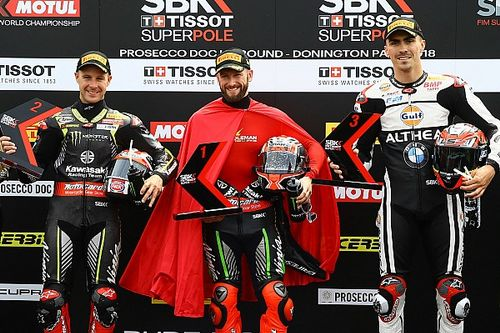 Donington WSBK: Sykes sets all-time pole record