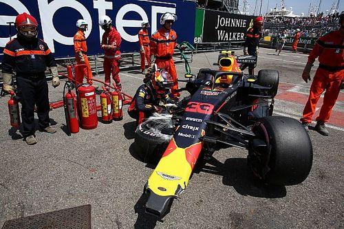 """Un accidente entre Hamilton y Verstappen, """"cuestión de tiempo"""" según Brown"""