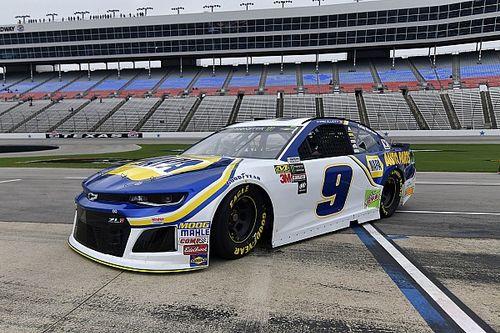 NASCAR pune Elliott por problema em janela traseira