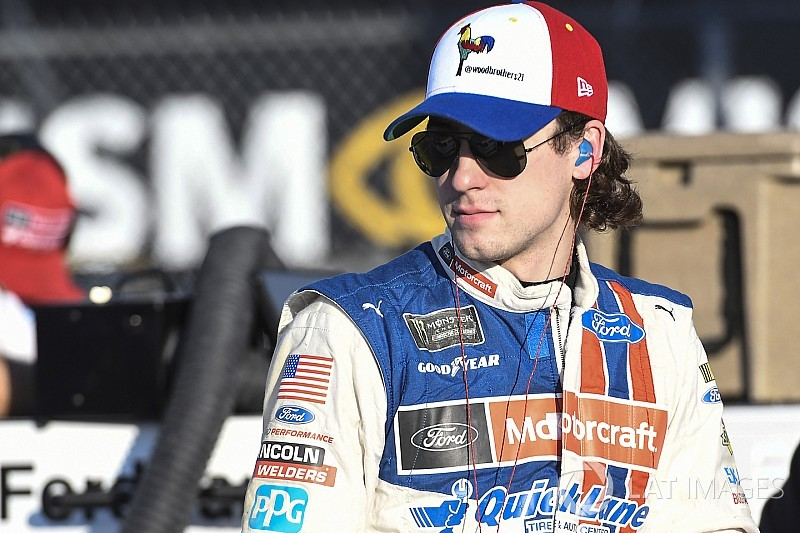"""Ryan Blaney: """"We overcame a lot"""" to advance in NASCAR playoffs"""